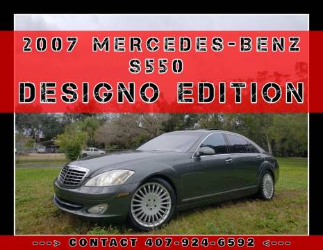 2007 Mercedes-Benz S-Class for sale at AFFORDABLE ONE LLC in Orlando FL