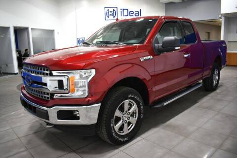2018 Ford F-150 for sale at iDeal Auto Imports in Eden Prairie MN