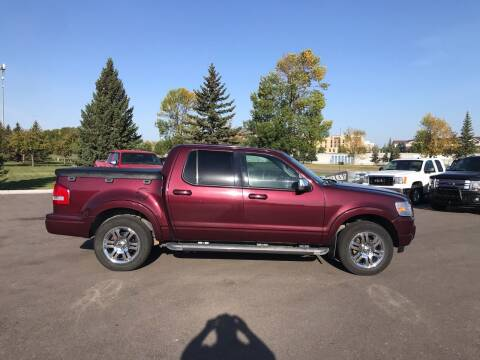 2007 Ford Explorer Sport Trac for sale at Crown Motor Inc in Grand Forks ND
