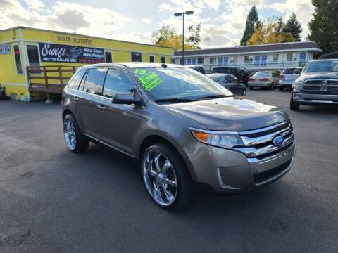 2013 Ford Edge for sale at SWIFT AUTO SALES INC in Salem OR