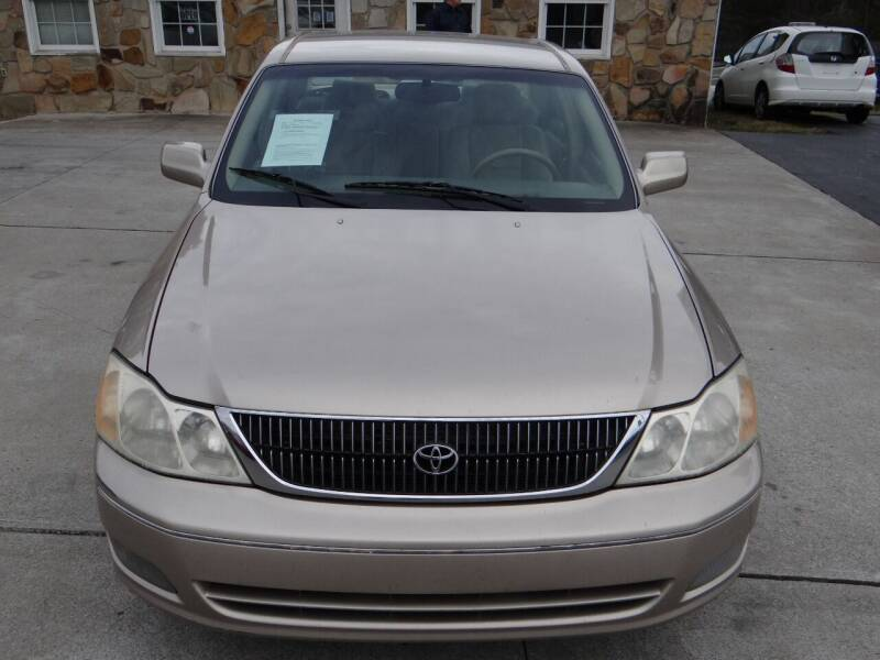 2000 Toyota Avalon for sale at Flywheel Auto Sales Inc in Woodstock GA