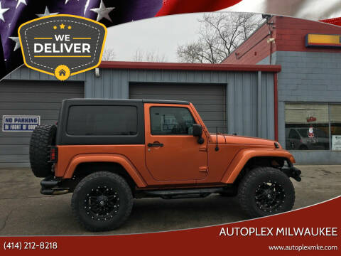 2011 Jeep Wrangler for sale at Autoplex 2 in Milwaukee WI