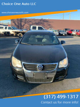 2008 Volkswagen Eos for sale at Choice One Auto LLC in Beech Grove IN