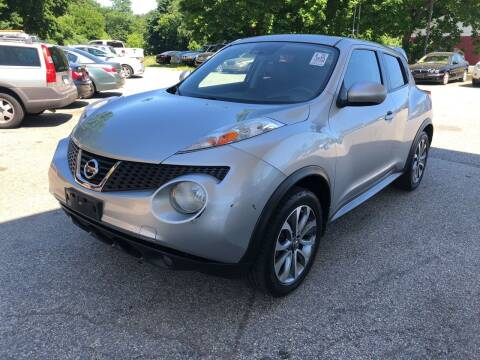 2011 Nissan JUKE for sale at Barga Motors in Tewksbury MA