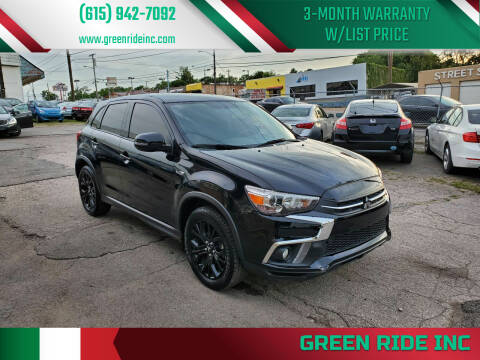 2018 Mitsubishi Outlander Sport for sale at Green Ride Inc in Nashville TN
