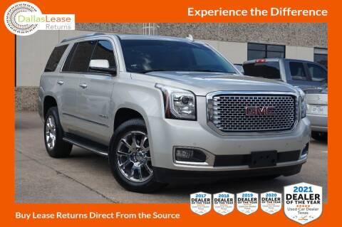 2017 GMC Yukon for sale at Dallas Auto Finance in Dallas TX