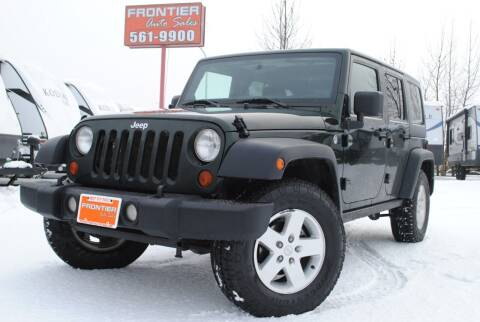 2011 Jeep Wrangler Unlimited for sale at Frontier Auto & RV Sales in Anchorage AK