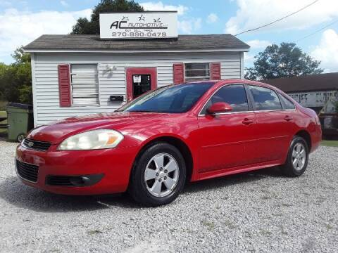 2010 Chevrolet Impala for sale at AC AUTOMOTIVE LLC in Hopkinsville KY
