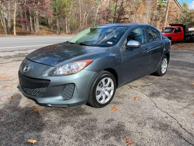 2013 Mazda MAZDA3 for sale at Old Rock Motors in Pelham NH
