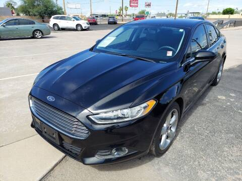 2016 Ford Fusion for sale at Century Auto Sales in Apache Junction AZ