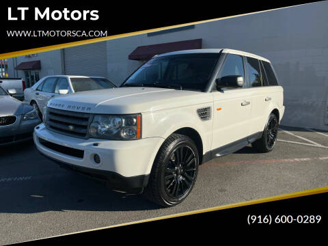 2008 Land Rover Range Rover Sport for sale at LT Motors in Rancho Cordova CA
