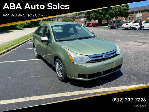 2008 Ford Focus for sale at ABA Auto Sales in Bloomington IN