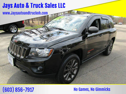 2016 Jeep Compass for sale at Jays Auto & Truck Sales LLC in Loudon NH