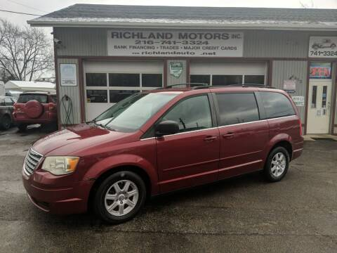 2010 Chrysler Town and Country for sale at Richland Motors in Cleveland OH