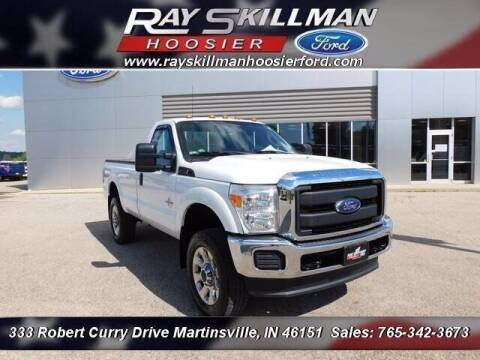 2016 Ford F-350 Super Duty for sale at Ray Skillman Hoosier Ford in Martinsville IN