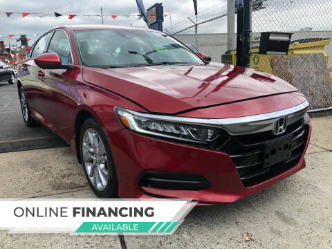2018 Honda Accord for sale at GW MOTORS in Newark NJ