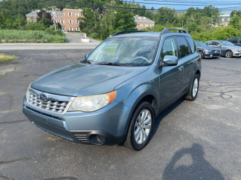 2011 Subaru Forester for sale at Turnpike Automotive in North Andover MA