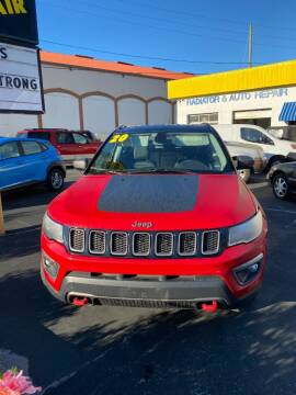 2020 Jeep Compass for sale at DUNEDIN AUTO SALES INC in Dunedin FL