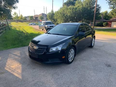 2012 Chevrolet Cruze for sale at CARWIN MOTORS in Katy TX