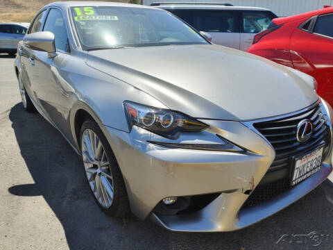 2015 Lexus IS 250 for sale at Guy Strohmeiers Auto Center in Lakeport CA