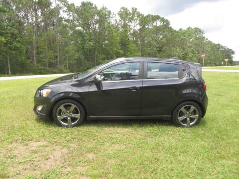 2015 Chevrolet Sonic for sale at Ward's Motorsports in Pensacola FL