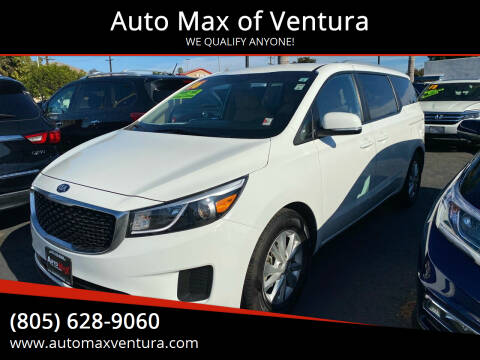 2016 Kia Sedona for sale at Auto Max of Ventura in Ventura CA