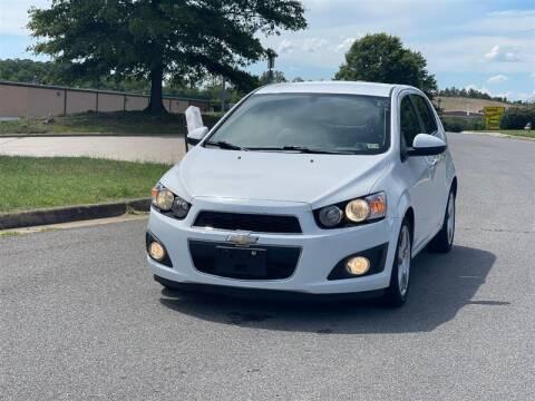 2015 Chevrolet Sonic for sale at CarXpress in Fredericksburg VA
