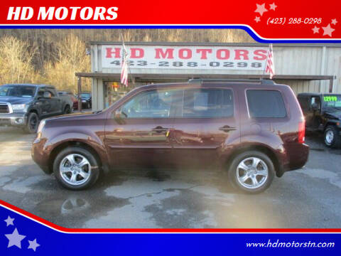 2012 Honda Pilot for sale at HD MOTORS in Kingsport TN