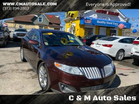 2009 Lincoln MKS for sale at C & M Auto Sales in Detroit MI