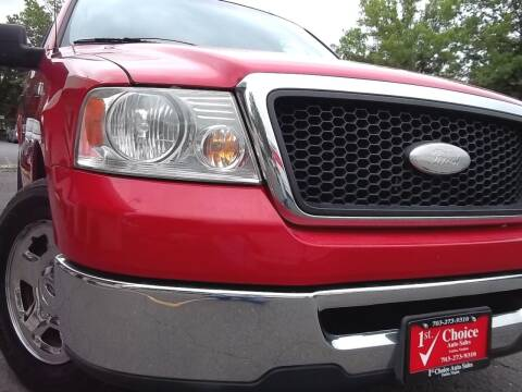 2007 Ford F-150 for sale at 1st Choice Auto Sales in Fairfax VA