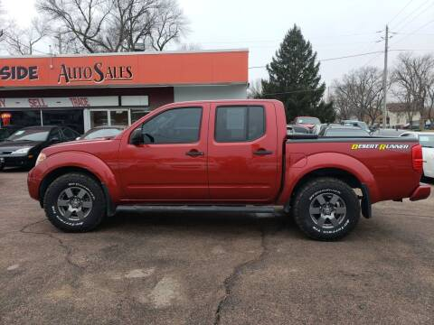 2013 Nissan Frontier for sale at RIVERSIDE AUTO SALES in Sioux City IA