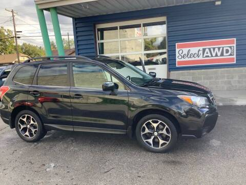 2015 Subaru Forester for sale at Select AWD in Provo UT