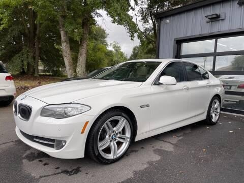 2012 BMW 5 Series for sale at Luxury Auto Company in Cornelius NC
