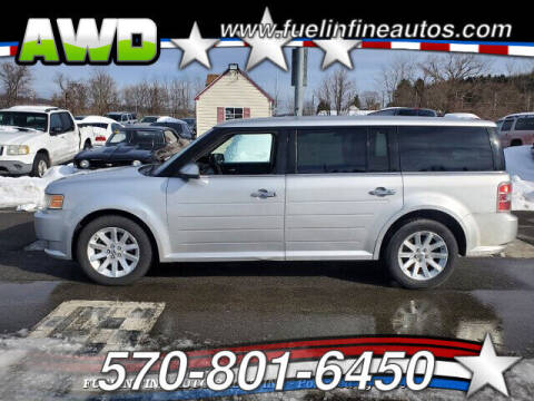 2010 Ford Flex for sale at FUELIN FINE AUTO SALES INC in Saylorsburg PA
