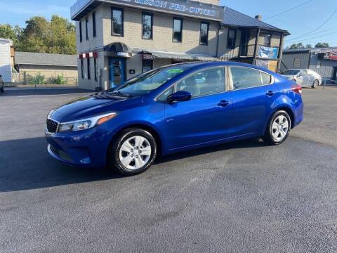 2018 Kia Forte for sale at Sisson Pre-Owned in Uniontown PA