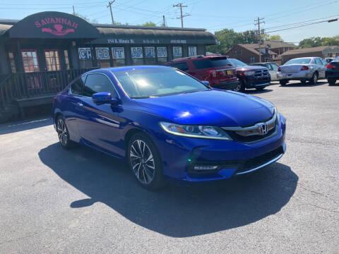 2016 Honda Accord for sale at Savannah Motors in Belleville IL