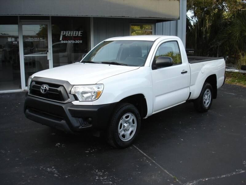 2014 Toyota Tacoma for sale at PRIDE AUTO SALES LLC in Nokomis FL