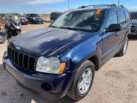 2006 Jeep Grand Cherokee for sale at PYRAMID MOTORS - Fountain Lot in Fountain CO
