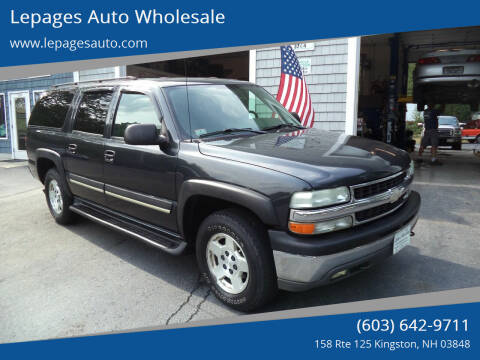 2004 Chevrolet Suburban for sale at Lepages Auto Wholesale in Kingston NH