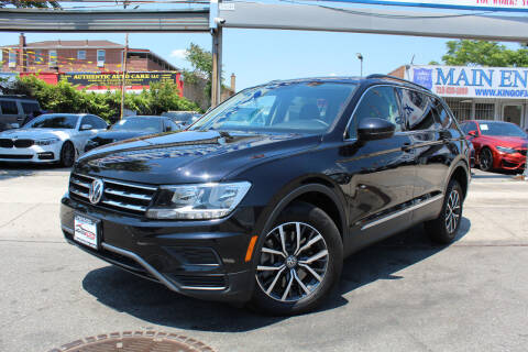 2020 Volkswagen Tiguan for sale at MIKEY AUTO INC in Hollis NY
