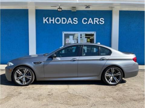 2013 BMW M5 for sale at Khodas Cars in Gilroy CA