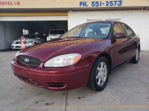 2007 Ford Taurus for sale at Best Royal Car Sales in Dallas TX