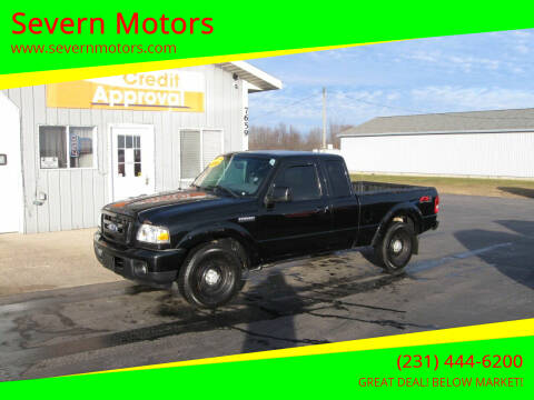 2010 Ford Ranger for sale at Severn Motors in Cadillac MI