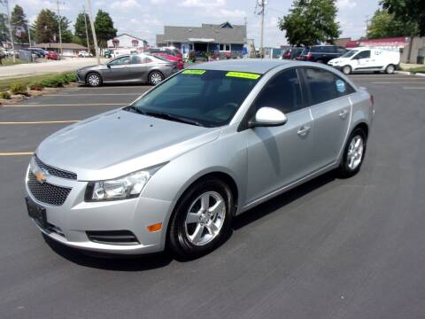 2011 Chevrolet Cruze for sale at Ideal Auto Sales, Inc. in Waukesha WI