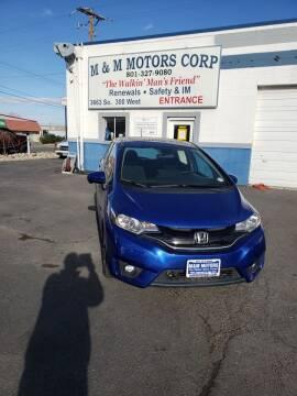 2016 Honda Fit for sale at M&M Motors in Salt Lake City UT