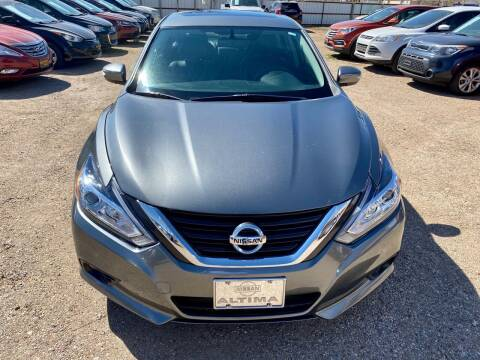 2016 Nissan Altima for sale at Good Auto Company LLC in Lubbock TX
