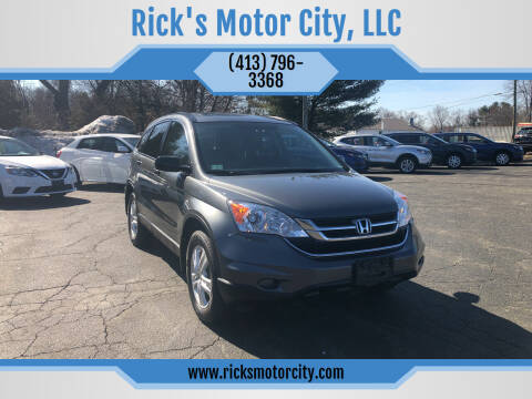 2011 Honda CR-V for sale at Rick's Motor City, LLC in Springfield MA