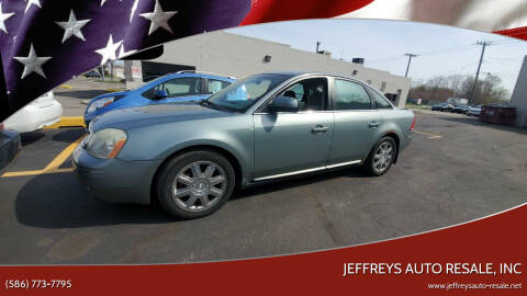2007 Ford Five Hundred for sale at Jeffreys Auto Resale, Inc in Clinton Township MI