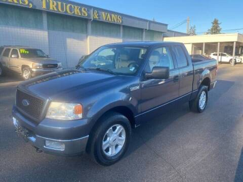 2004 Ford F-150 for sale at TacomaAutoLoans.com in Tacoma WA