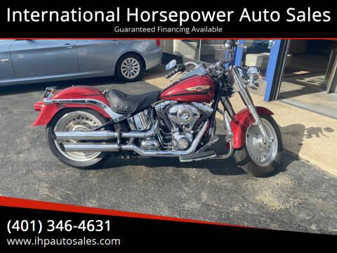 2007 Harley-Davidson FLSTF for sale at International Horsepower Auto Sales in Warwick RI